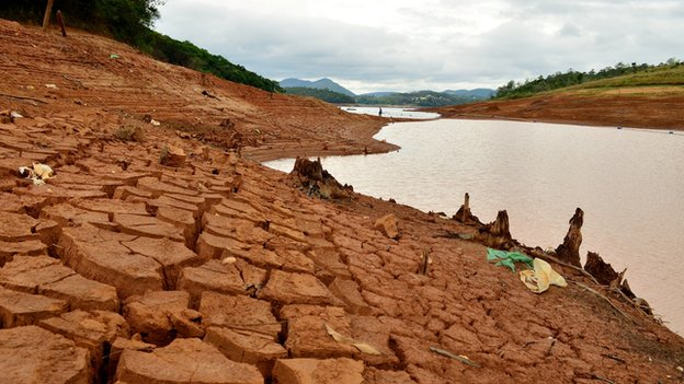 Sao Palo drought and water crisis