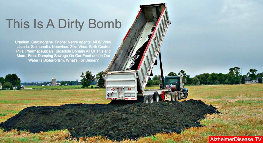 biosolids and application fertilizer