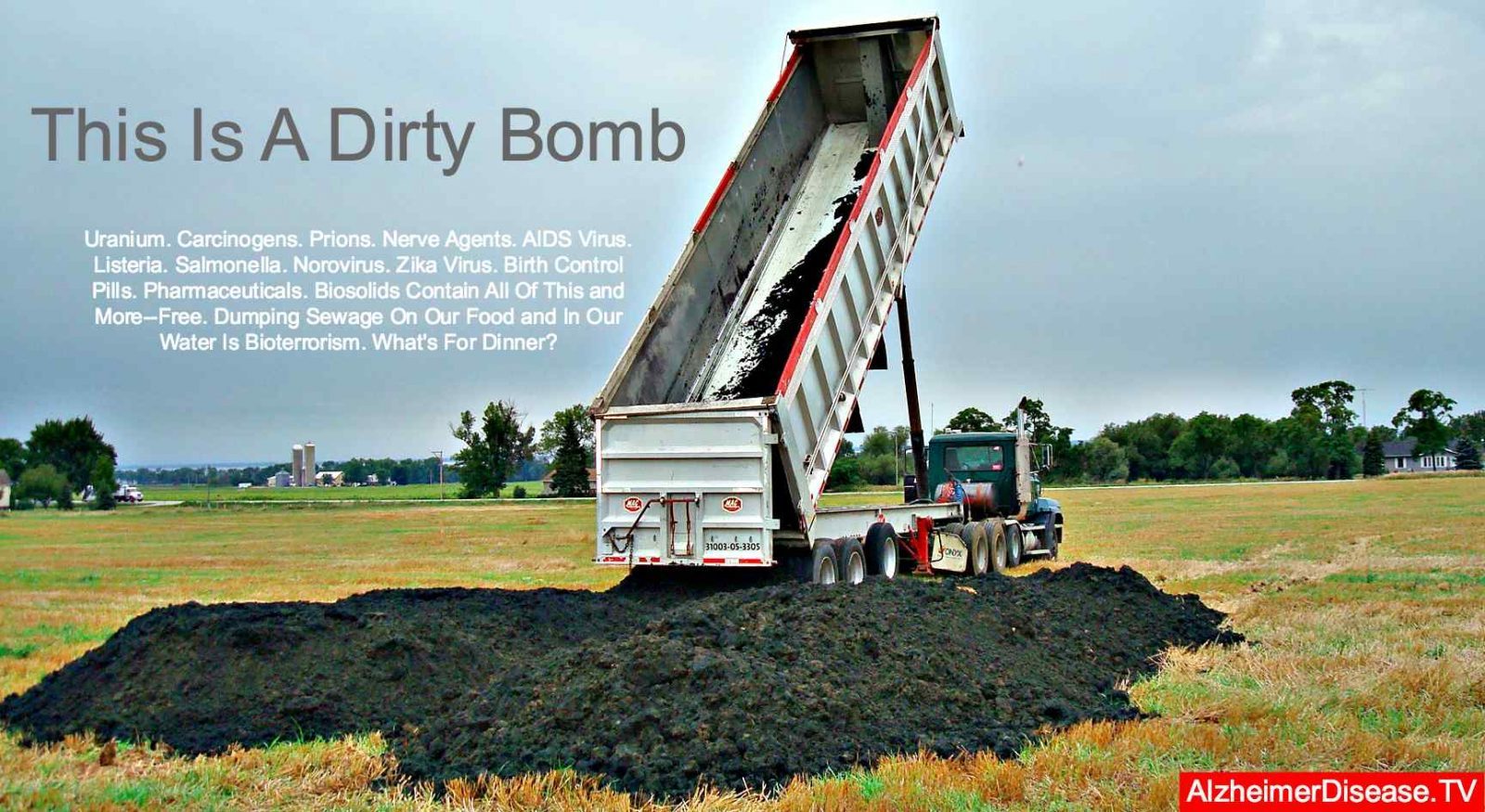 biosolids and prion disease